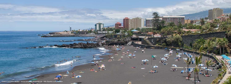 playa jardin in puerto de la cruz auf teneriffa